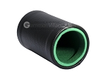 picture of Black Leatherette Backgammon Dice Cup - Green Interior with Trip Lip (2 of 2)