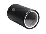 picture of Black Leatherette Backgammon Dice Cup - Grey Interior with Trip Lip (2 of 2)