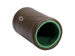 picture of Brown Leatherette Backgammon Dice Cup - Green Interior with Trip Lip (2 of 2)