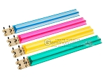Mah Jong Tile Racks - Acrylic - Colored Clear - Set of 4