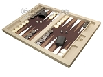 picture of Hector Saxe Leatherette Tabletop Backgammon Set - Ivory (3 of 11)