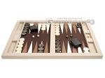 picture of Hector Saxe Leatherette Tabletop Backgammon Set - Ivory (4 of 11)