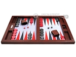 picture of Hector Saxe Faux Snake Tabletop Backgammon Set - Maroon (4 of 11)