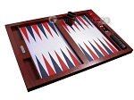 picture of Hector Saxe Faux Snake Tabletop Backgammon Set - Maroon (10 of 11)