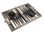 picture of Hector Saxe Scottish Linen Travel Backgammon Set (2 of 12)