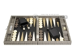 picture of Hector Saxe Scottish Linen Travel Backgammon Set (4 of 12)