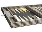 picture of Hector Saxe Scottish Linen Travel Backgammon Set (5 of 12)