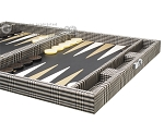 picture of Hector Saxe Scottish Linen Travel Backgammon Set (6 of 12)