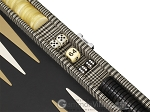 picture of Hector Saxe Scottish Linen Travel Backgammon Set (9 of 12)