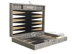 picture of Hector Saxe Scottish Linen Travel Backgammon Set (10 of 12)