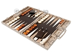 picture of Hector Saxe Python Leather Backgammon Set - Beige (3 of 12)