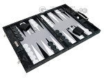 picture of Hector Saxe Python Leather Backgammon Set - Black (2 of 12)