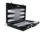 picture of Hector Saxe Python Leather Backgammon Set - Black (10 of 12)