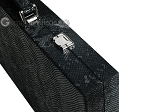 picture of Hector Saxe Python Leather Backgammon Set - Black (12 of 12)