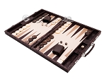 picture of Hector Saxe Python Leather Backgammon Set - Brown (3 of 12)