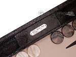 picture of Hector Saxe Python Leather Backgammon Set - Brown (7 of 12)
