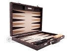 picture of Hector Saxe Python Leather Backgammon Set - Brown (10 of 12)