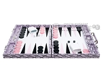 picture of Hector Saxe Python Leather Backgammon Set - Parma (4 of 12)
