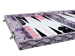 picture of Hector Saxe Python Leather Backgammon Set - Parma (5 of 12)