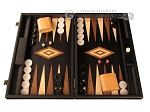 picture of Black Backgammon Set - Large - Black Field (1 of 12)