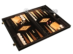 picture of Black Backgammon Set - Large - Black Field (2 of 12)