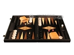 picture of Black Backgammon Set - Large - Black Field (4 of 12)