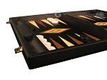 picture of Black Backgammon Set - Large - Black Field (5 of 12)