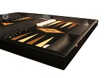 picture of Black Backgammon Set - Large - Black Field (6 of 12)