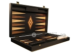 picture of Black Backgammon Set - Large - Black Field (7 of 12)