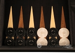 picture of Black Backgammon Set - Large - Black Field (8 of 12)