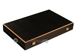 picture of Black Backgammon Set - Large - Black Field (10 of 12)
