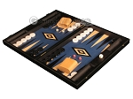 picture of Black Backgammon Set - Large - Blue Field (3 of 12)