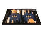 picture of Black Backgammon Set - Large - Blue Field (4 of 12)
