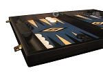 picture of Black Backgammon Set - Large - Blue Field (5 of 12)