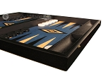 picture of Black Backgammon Set - Large - Blue Field (6 of 12)