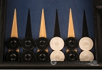 picture of Black Backgammon Set - Large - Blue Field (8 of 12)
