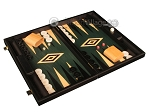 picture of Black Backgammon Set - Large - Green Field (2 of 12)