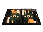picture of Black Backgammon Set - Large - Green Field (4 of 12)