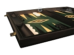 picture of Black Backgammon Set - Large - Green Field (5 of 12)
