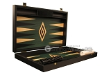 picture of Black Backgammon Set - Large - Green Field (7 of 12)