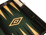 picture of Black Backgammon Set - Large - Green Field (9 of 12)