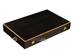 picture of Black Backgammon Set - Large - Green Field (10 of 12)