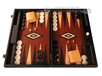 Black Backgammon Set - Large - Red Field - Item: 2872