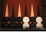 picture of Black Backgammon Set - Large - Red Field (8 of 12)