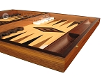 picture of Oak Backgammon Set - Large - Black (6 of 12)