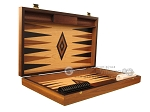 picture of Oak Backgammon Set - Large - Black (7 of 12)