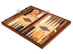 picture of Oak Backgammon Set - Large - Blue (3 of 12)