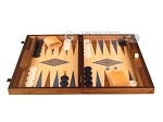 picture of Oak Backgammon Set - Large - Blue (4 of 12)