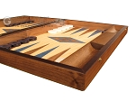 picture of Oak Backgammon Set - Large - Blue (6 of 12)