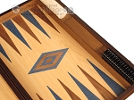 picture of Oak Backgammon Set - Large - Blue (9 of 12)